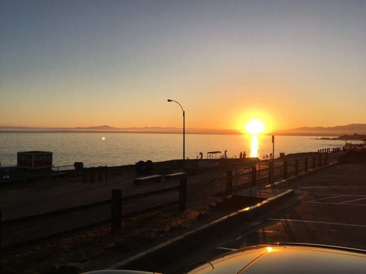 Sunrise over MB